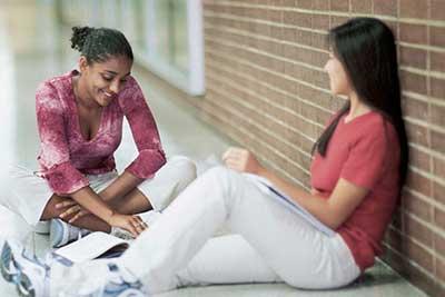 alumnas de los cursos de español para extranjeros en Madrid