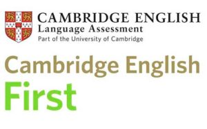 Logotipo de las clases de la Preparación del examen de inglés First (FCE)