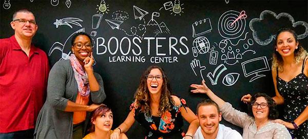 Profesores de inglés para niños en Madrid Booster Learning Center
