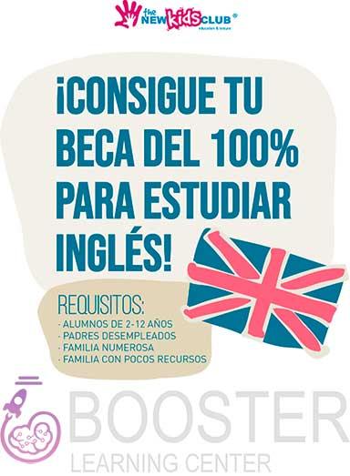 cartel de los Clases de inglés gratis para niños en  zona Manuel Becerra, Calle Alcalá y Ventas