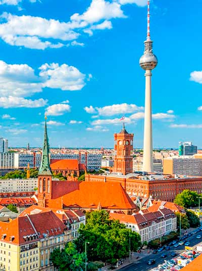 imagen de Berlín utilizada en las Clases y cursos de alemán en Madrid