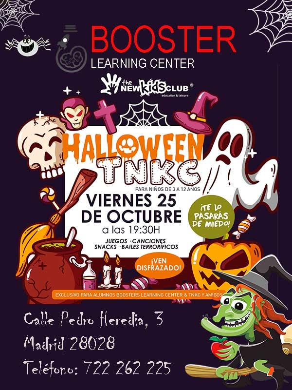 Imagen de la Fiesta de Halloween para niños en zona Manuel Becerra, Barrio Funete del Berro y Goya