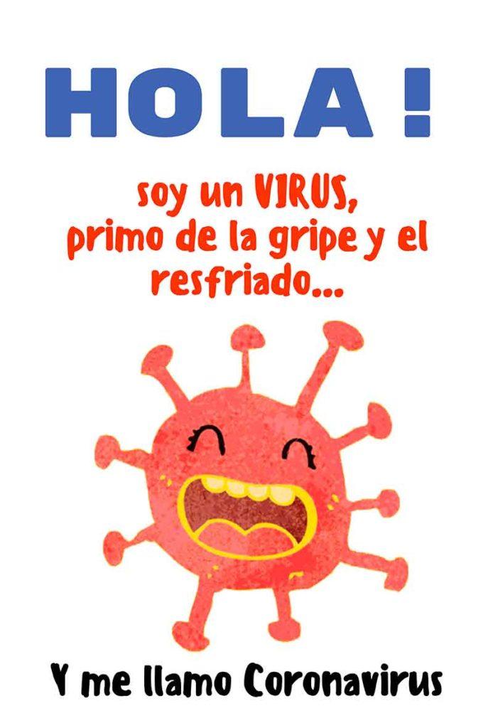 Cómo contar a los niños la historia de coronavirus 1