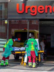 Urgencias de un hospital madrileño durante la pandemia 2020 en Promoción clases de inglés médicos de urgencias